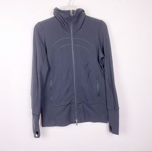 Lululemon Black Define Jacket Thumbhole